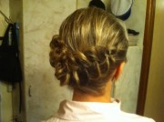 Красивая ажурная коса :)