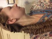 Ажурное плетение кос