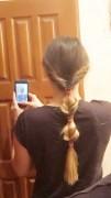7 день. Греческая коса
