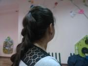 День 6. Коса с резиночками